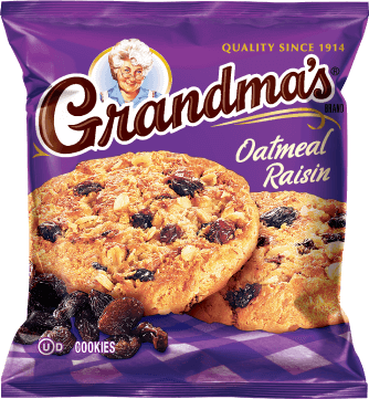 GRANDMA'S® Oatmeal Raisin Cookies